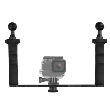 Shoot handheld stabilizer for dome port & gopro Hero 7 6 5 4s/4/3/2/1