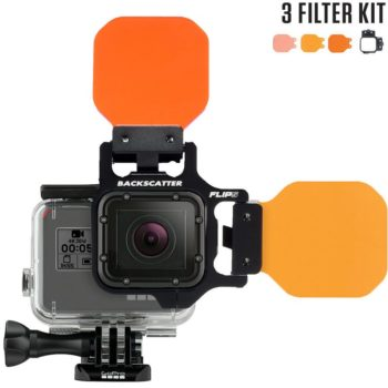 Three filter kit with shallow, dive & deep filter