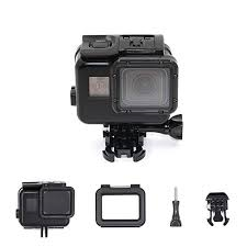 Black Waterproof Housing Case with one additional clear